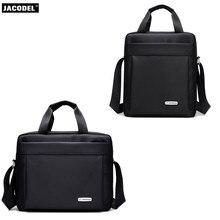 Jacodel Оксфорд небольшая сумка для Для мужчин сумки Водонепроницаемый Mini Crossbody сумка для iPad Tablet мешок 7 8 9 10 12 сумка