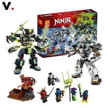 2016 New 782Pcs Phantom Ninja Building Blocks Compatible With legoe Ninja Minifigures Toys Brick Boys Birthday Gift Brinquedo