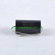 4pcs MPT 3.3uF 400V DC Audio Grade Axial Capacitor Amp HIFI Tube Amplifier Guitar цена и фото