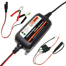 MOTOPOWER 12V 1.5A Fully Automatic Smart Battery Charger Maintainer for Car Truck Boat Motorcycle all types Lead Acid Batteries(China)