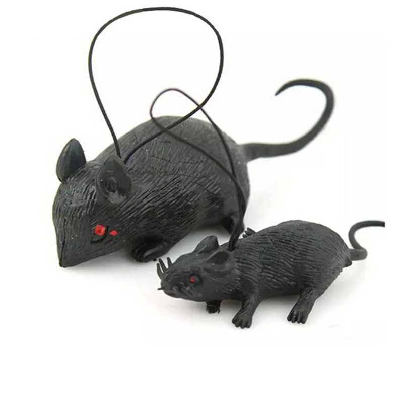 2016 fashion style halloween mouse novelty toys gag toys horror simulation mouse animal wholesale - Halloween Novelties Wholesale