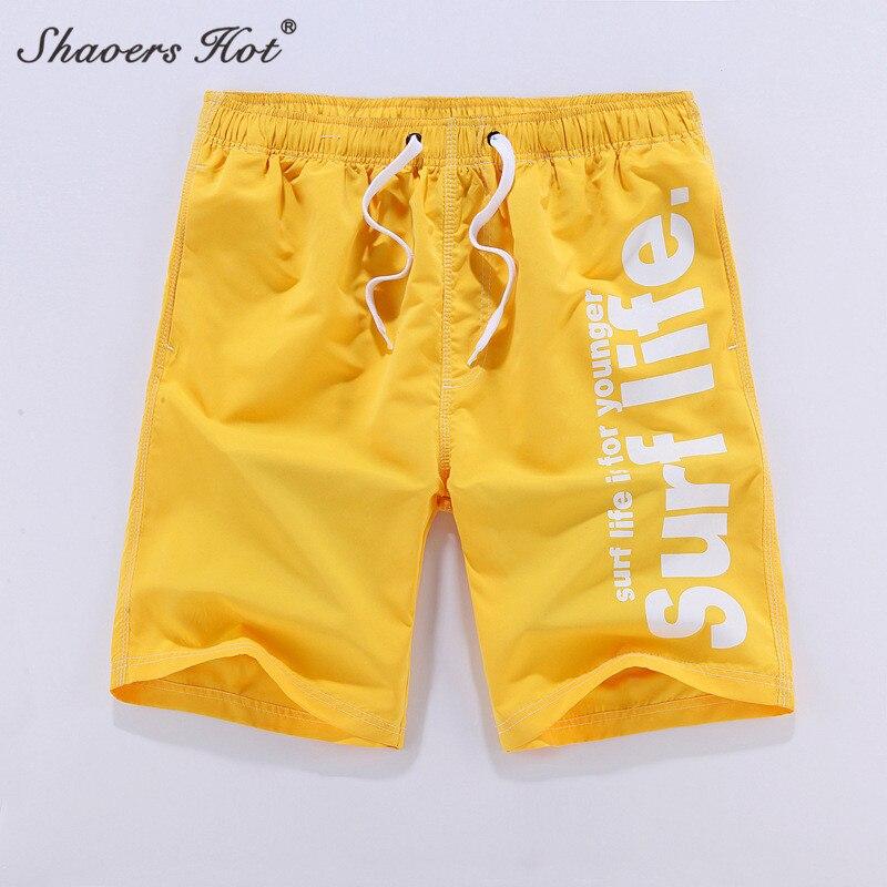 2018 NEW Men Beach Shorts Brand Quick Men Shorts 6 color Surf Short Pants Plus Size XXXL Boardshort Sunga Bermuda 258