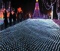 8x10 m 2600 SMDs LED Net Luzes Luminaria Indoor/Iluminação Da Paisagem Ao Ar Livre Do Natal Ano Novo Guirlandas À Prova D' Água luz CONDUZIDA Da Corda