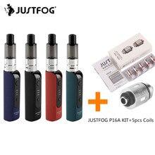Original JUSTFOG P16A Start Kit Vape Pen Mini Kit Portable Electronic Cigarette Kit with 900mAh Built-in Battery 1.9ml Tank