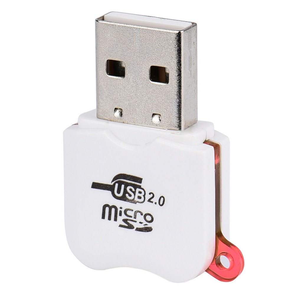 5PCS USB 2.0 Mini Micro SD SDHC TF Flash Memory Card Adapter Reader High Speed for Laptop 0.35