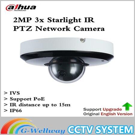 Dahua DH-SD1A203T-GN soutien IVS PoE IR15m IP66 2MP 3x Starlight IR PTZ Caméra Réseau SD1A203T-GN Livraison gratuite