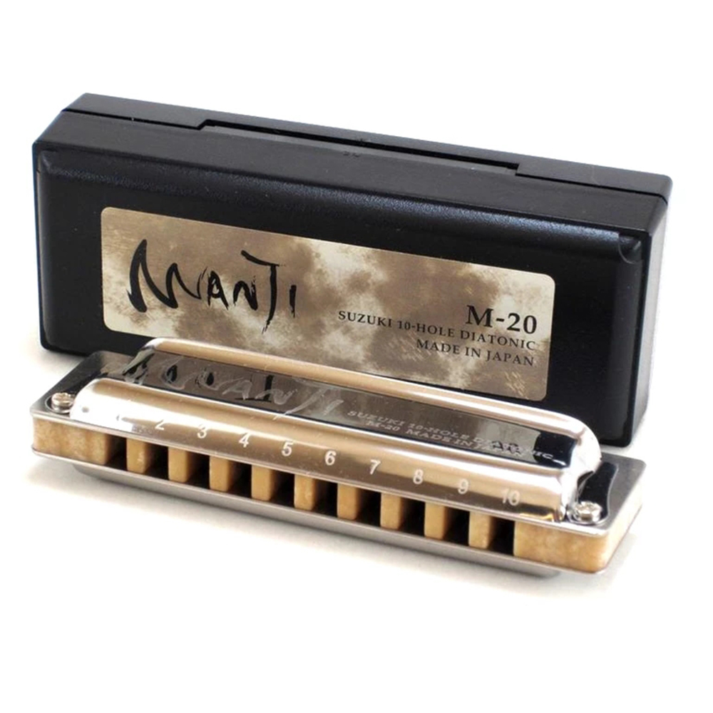 Low E Flat and Low F SUZUKI MANJI Low Key 5 harmonicas set Low C Low E Low D