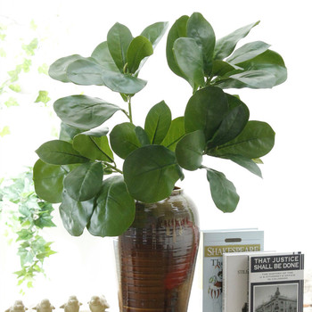 Plantas Artificiales Ramas Flor Bud Estampa De Arreglo