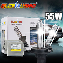 h3 xenon canbus HID Kit C5 55W xenon H3 bulb lights 4300K 5000K 6000K 8000K slim ballast fast start 12V h3