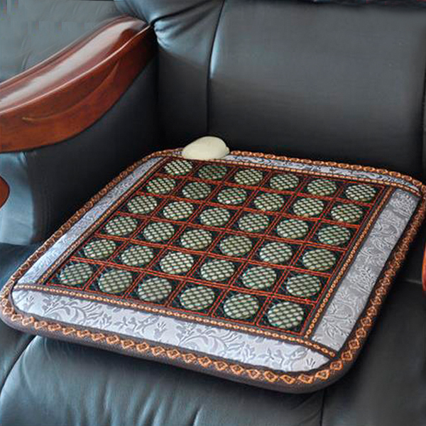 Wholesale&Free Shipping Tourmaline and Jade Heating Pad Thermal Seat Mat Mix 50cmX50cm