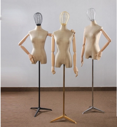 Fashion Style Hot Sale Fiberglass Fabric Female Mannequin Dressmaking Model Factory Direct Sell mannequin