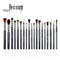 Jessup 19Pcs High Quality Pro Makeup Brush Set Make Up Brushes Kit Tools