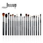 Jessup 19Pcs High Quality Pro Makeup Brush Set Make Up Brushes Kit Tools T131