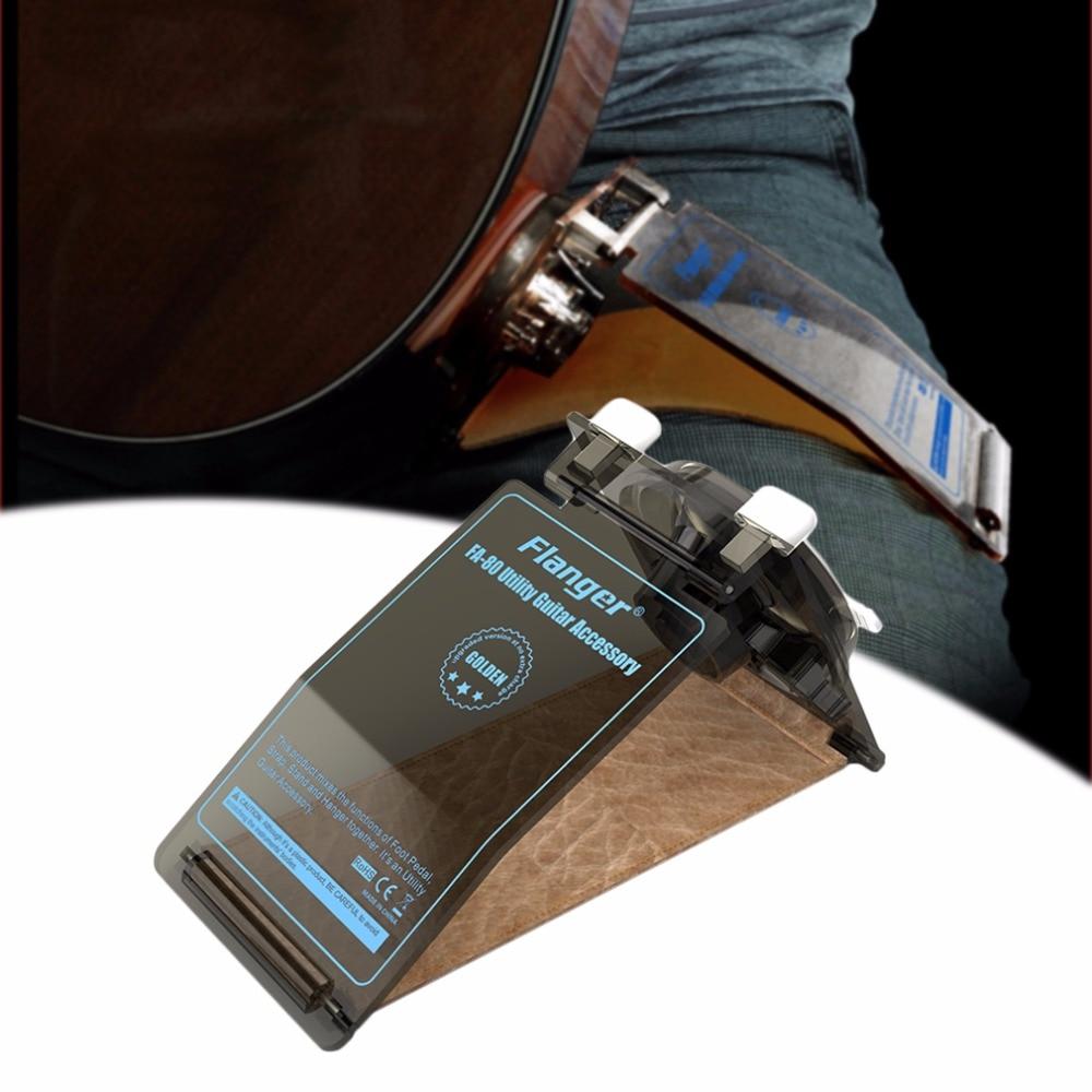 Flanger FA-80 práctico guitarra Utility Accessory escabel Correa cuello Stand resto para guitarra popular guitarra clásica