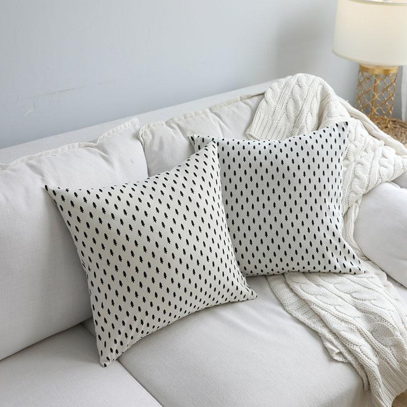 Mantelería de lino Mantelería de estilo nórdico norte estampado - Textiles para el hogar - foto 6