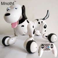 No Corner Children Protect 2 4G Wireless Remote Control Smart Dog Program Available Intelligent Robot Dog