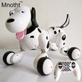 No Corner Children Protect 2.4G Wireless Remote Control Smart Dog/Program Available Intelligent Robot Dog Black/Pink