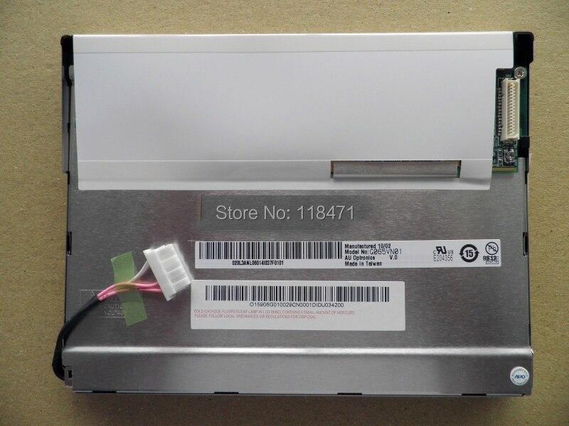 6.5 Inch LCD Panel G065VN01 V0 Display 600*480 LCD Screen LVDS 1 ch 6-bit 500 cd/m2