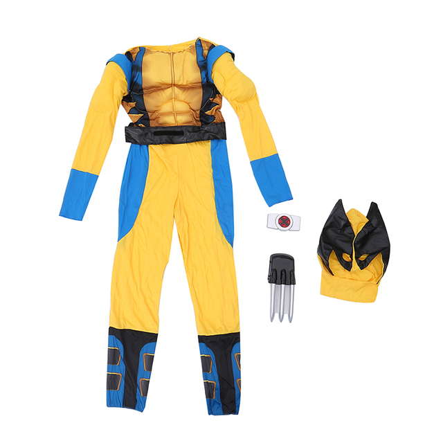 X-men Wolverine Superhero Costume