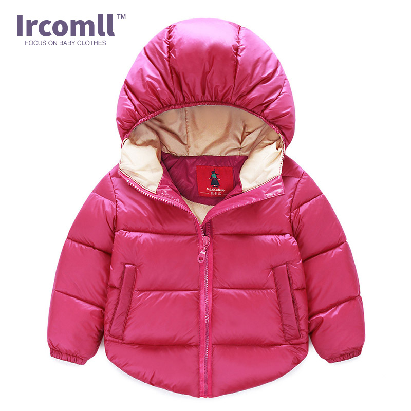 2017 Winter Children's Clothing Cotton-padded Jacket Cotton Wadded Coat Thickening Boys Girls Thicken Hooded children thicken warm winter coat kids cotton padded jacket wadded outwear thickening boys girls fur hooded parkas clothes y105