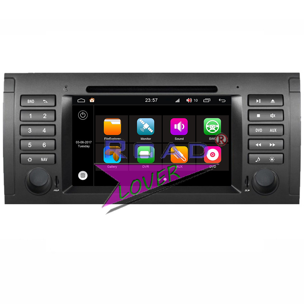 Winca S190 Android 7.1 Car PC Media Center DVD Player Radio For BMW X5 M5 E39 E53 (2000-2007) Stereo GPS Navigation MP3 Two Din