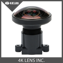 4K LENS 1.2MM Lens IR Fisheye 1/2.3 Inch 16MP S Mount 220D for 360 View Gopro Camera Virtual Reality Free Shipping Hot