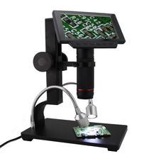 ADSM302 5 дюймов экран цифровой ЖК дисплей микроскоп HDMI 3MP видео запись лупа для PCB мобильного телефона ремонт пайки