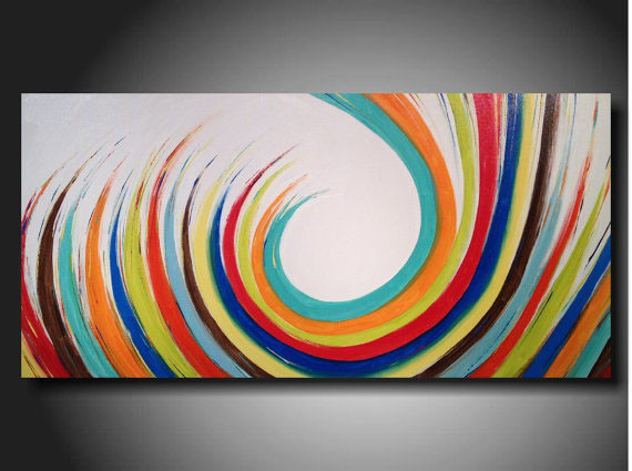 China supplier low price high quality 100 handpainted contemporary hotel decorative abstract art paintings on canvas