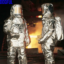 Approach-Suit Firefighter-Uniform Bunker L Aircraft-Rescue Thermal-Radiation Aluminized