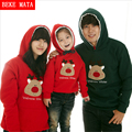 BEKE MATA Family Matching Outfits Winter 2016 Thicken Cotton Matching Mother Daughter Father Son Clothes Family Look Clothing