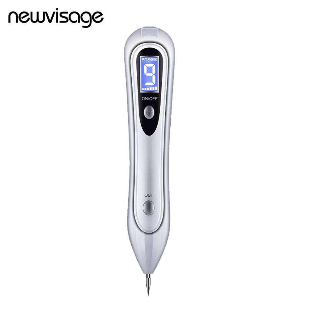 9 Levels Laser Plasma Pen Tattoo Remover Dark Spot Pen Beauty Facial Freckle Wart Removal Face Skin Care Skin Tag & Mole Eraser