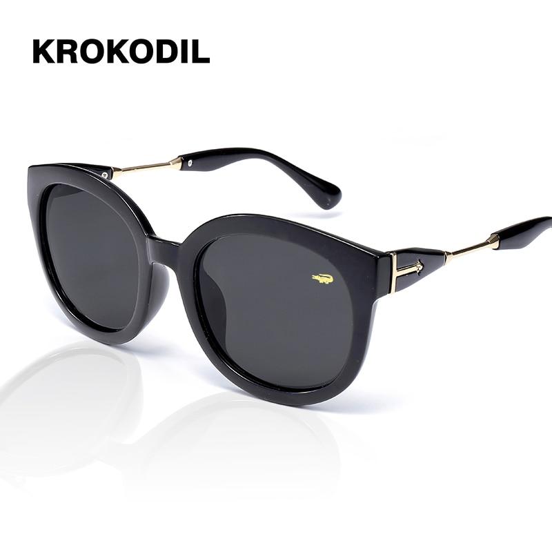 2019 Alloy Crystal Polarized Lens Sunglasses Women Black Frame Luxury Brand Oversized Gradient Femeil Sun Glasses Goggle Oculos
