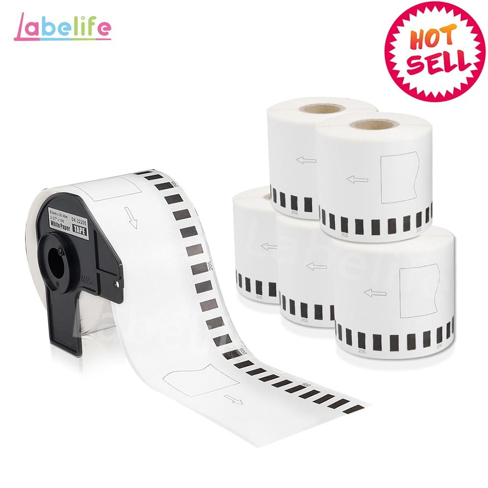 10x Etiketten für Brother P-Touch QL-1050N 1060N 500A 550 570 650TD 700 710W td