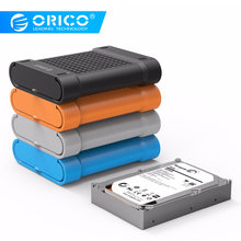 ORICO PHS 2.5 inch and 3.5 inch Silicone Protective Box / Storage Case for Hard Drive- Black/Blue/Gray/Orange(China)