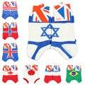 Diseño clásico Calcetines Bandera Forma de Algodón Calcetines Deportivos de Buena Calidad para Hombre Mujer