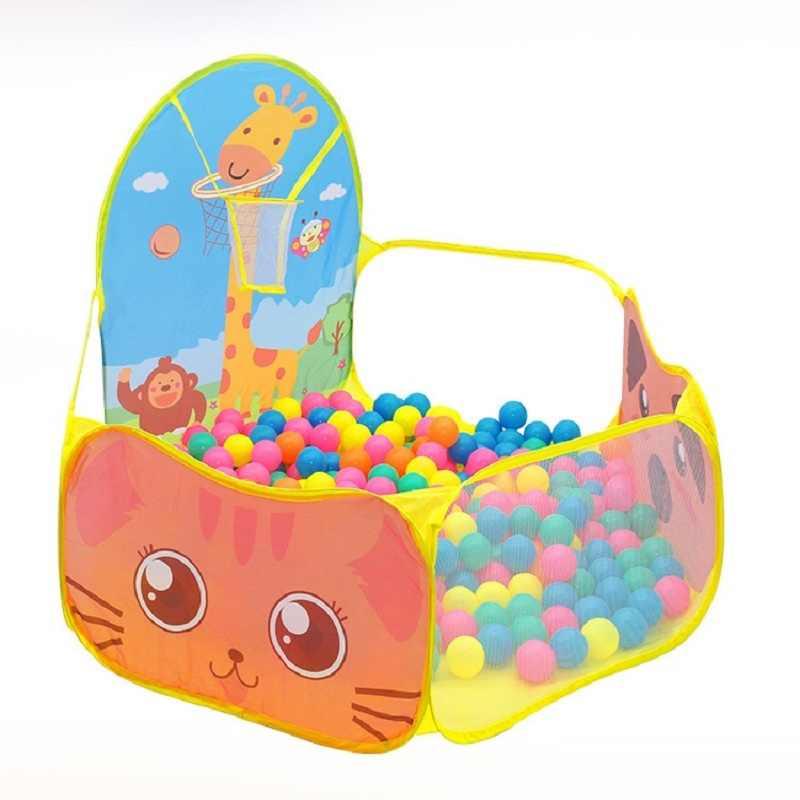 YARD ของเล่นเด็กเต็นท์เด็กเล่นเต็นท์เด็กสาวเจ้าหญิงปราสาทในร่มกลางแจ้งบ้านเด็กเล่นบอล PIT Pool Playhouse