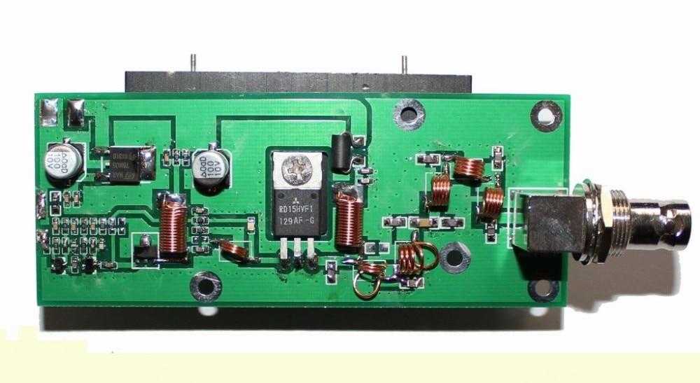 5W FM Amplifiers RF amplifier module 87-108MHz in -10dbm-10dbm out 41.5dbm professional 87 108mhz dsp