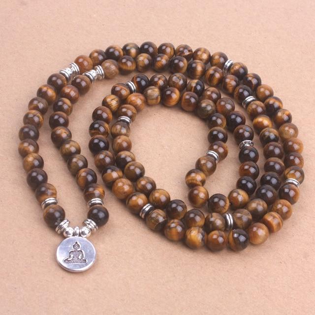 Bracelet Bouddhiste Oeil De Tigre