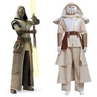 Star Wars Cosplay Star Wars Clone Wars Jedi Temple Guard Cosplay Costume Adult Men's Halloween Carnival Costume Cosplay