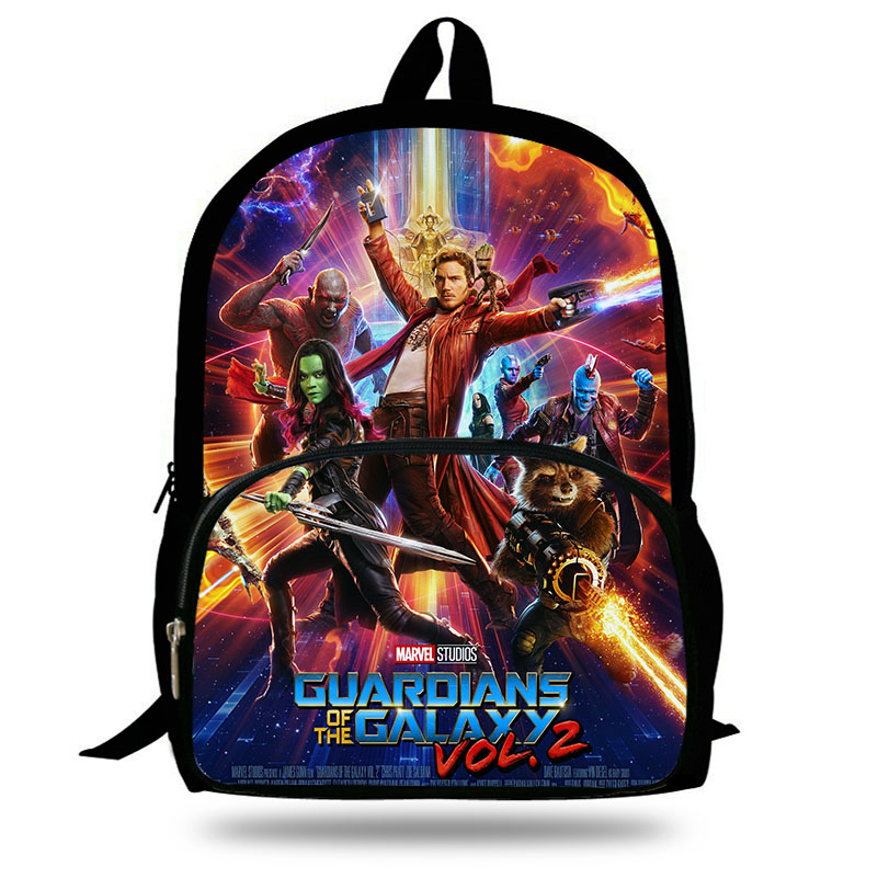 2018 New Guardians of the Galaxy Vol. 2 Boys Backpack For Teenagers Men Star-lord/Yondu Print Girls Bakcpack Children School Bag