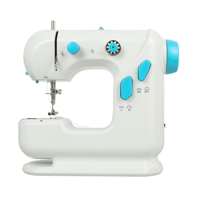 Nuevo con cuchillo luz SM 306 mini máquina de coser hogar de alta ...