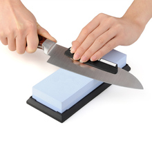 Diamond Kitchen Knife Sharpening Stone GrindStone Knives White Corundum Whetstone Tools