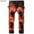 Newsosoo nuevo fashion night club vaqueros tamaño de los hombres 29-38 slim fit jeans Pintados A Mano impreso pantalones vaqueros Flacos de Los Hombres MJ43