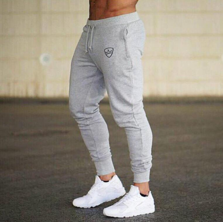 2019 Summer New Fashion Thin section Pants Men Casual Trouser Jogger Bodybuilding Fitness Sweat Time limited Sweatpants 2