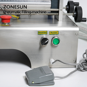 Image 3 - ZONESUN رأس مزدوج 10 300 مللي أفقي هوائي السيارات ماكينة حشو زيت طبيعي المياه العطور حشو