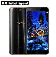 Для ZTE Nubia Z17 Mini S NX589J мобильный телефон 5,2 дюймов 4G MSM8976 Pro Snapdragon 653 Octa Core 16MP + 13MP двойной Камера NFC OTG 6 ГБ + 6 4G B