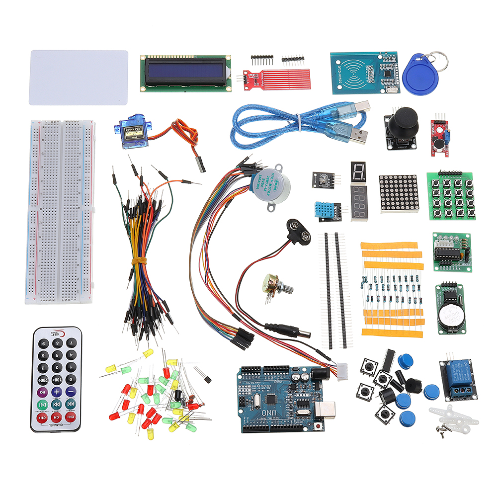 RFID Starter Kits For Arduino R3 Upgraded Version Learning Suite Module Board With Retail BoxRFID Starter Kits For Arduino R3 Upgraded Version Learning Suite Module Board With Retail Box