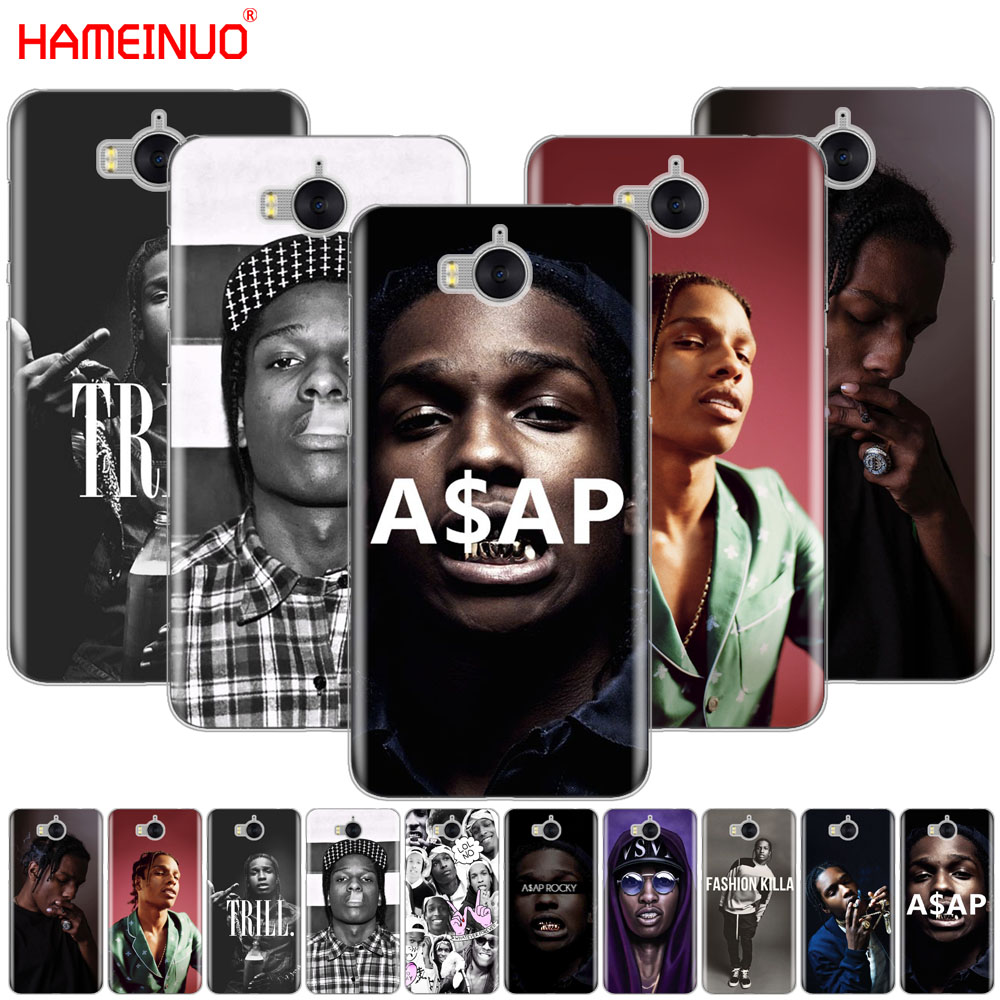 HAMEINUO A$AP Asap Rocky Lord Flacko cell phone Cover Case for huawei honor 3C 4X 4C 5C 5X 6 7 Y3 Y6 Y5 2 II Y560 2017