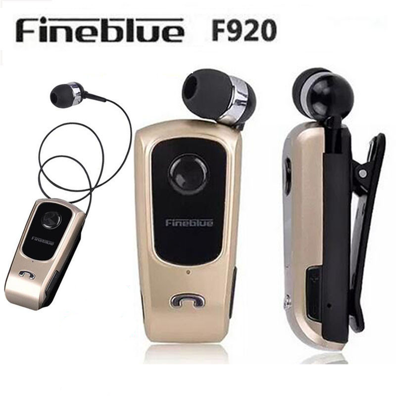 FineBlue F920 Wireless auriculares Fahrer Bluetooth Headset Anrufe Erinnern Vibration Wear Clip