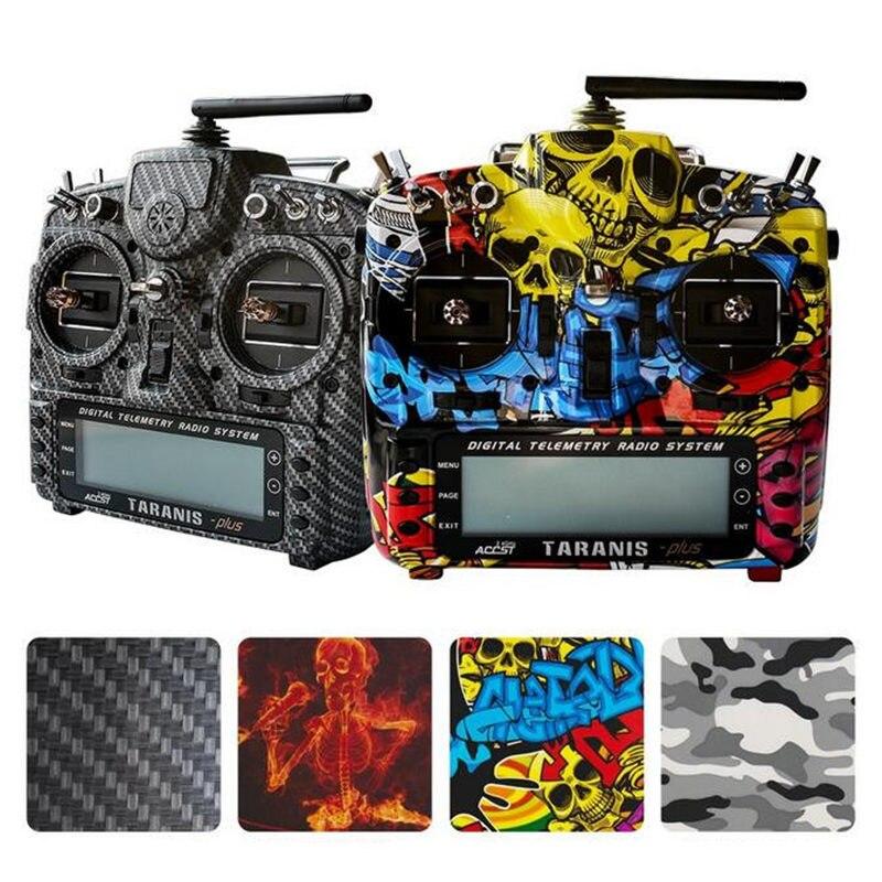 FrSky 2.4g 16CH Taranis X9D Più SE Trasmettitore SPECIAL EDITION w/M9 Caso di Trasferimento Dell'acqua del Sensore con Batteria e Caricatore RC Giocattolo